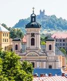 Banska Stiavnica, Eslovaquia - Calvary Foto de archivo