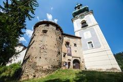 Banska Stiavnica, Eslovaquia - castillo viejo Foto de archivo