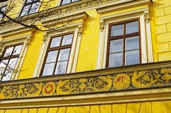 Banska Stiavnica - facade Royalty Free Stock Photo