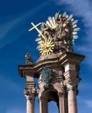 Banska Stiavnica - fléau de trinité sainte image stock