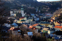 Banska Stiavnica Royalty Free Stock Photography