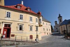 Banska Stiavnica historical mining town Stock Image