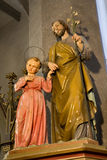 Banska Stiavnica holy Jospeh with the little Jesus Royalty Free Stock Images