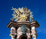 Banska Stiavnica - Holy Trinity column Royalty Free Stock Images