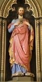 Banska Stiavnica - Jesus heart Stock Images