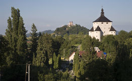 Banska Stiavnica - New castle and calvary Stock Photos