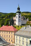 Banska Stiavnica Old castle Stock Photo