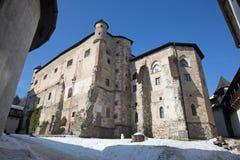 Banska Stiavnica - The Old castle. Stock Image