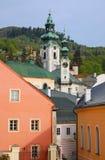 Banska Stiavnica, Old castle Royalty Free Stock Photos