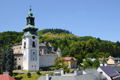 Banska Stiavnica Old Castle, Slovakia Royalty Free Stock Images