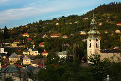 Banska Stiavnica Old castle, Slovakia Stock Photography