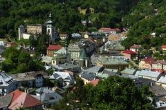 Banska Stiavnica, Old Town, Slovakia, UNESCO royalty free stock photography