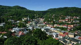 Banska Stiavnica, Old Town, Slovakia, UNESCO stock images