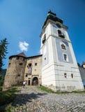 Banska Stiavnica - Slovakia. Old Caste Stock Photography