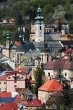 Banska Stiavnica, Slovakia Unesco Royalty Free Stock Photo