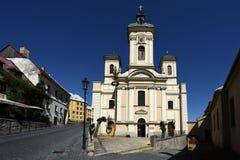 Banska Stiavnica, Slovakia, UNESCO royalty free stock photos