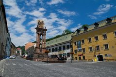 Banska Stiavnica, Slovaquie Photos stock