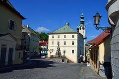 Banska Stiavnica royalty free stock image
