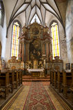 Banska Stiavnica - st. Katharine church Royalty Free Stock Images