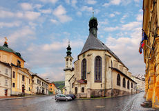 Banska Stiavnica Stock Photo