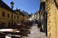 Banska Stiavnica, Stary miasteczko, Sistani, UNESCO Zdjęcia Stock