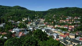 Banska Stiavnica, Stary miasteczko, Sistani, UNESCO Obrazy Stock