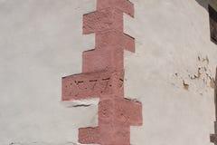 Banska Stiavnica - Synagogue Wall detail. Stock Photo