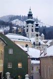 Banska Stiavnica - towes Stock Images