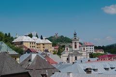 Banska Stiavnica Stock Photography