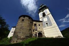 Banska Stiavnica, vieux château, Slovaquie, l'UNESCO Image libre de droits