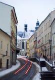 Banska Stivnica - monument de l'UNESCO Photographie stock libre de droits