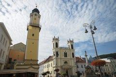 banskabystrica slovakia fotografering för bildbyråer