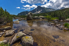 Banski Lakes, Pirin Mountain Stock Images