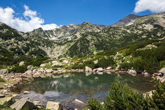Banski Lakes, Pirin Mountain Royalty Free Stock Photos