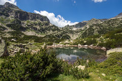 Banski Lakes, Pirin Mountain Royalty Free Stock Image