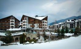 Bansko hotels Royalty Free Stock Photo