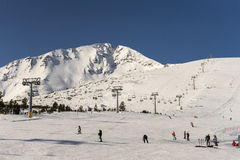 Bansko Pirin Resort Royalty Free Stock Photo
