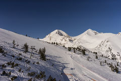 Bansko Pirin Resort Royalty Free Stock Photography