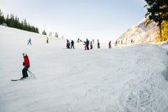 Bansko ski resort, Pirin national park Royalty Free Stock Photos