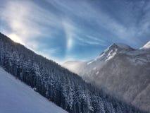 Bansko skidar semesterorten Arkivfoto