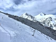 Bansko-Skiort Lizenzfreies Stockbild