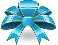 bant μπλε κορδέλλα Στοκ φωτογραφία με δικαίωμα ελεύθερης χρήσης