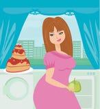 Banta äta frestelse Royaltyfri Fotografi