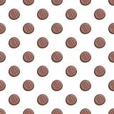 Banta den sömlösa vektorn för den ljusbruna modellen royaltyfri illustrationer