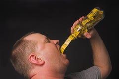 Banta drinken arkivfoto