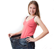 banta fiten får sund form Arkivfoton