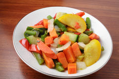 banta grönsaken arkivfoton
