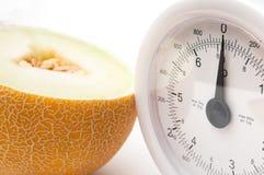 Banta matbegreppet för bottenläget - att banta för kalori arkivfoton