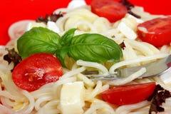 banta matspagetti Royaltyfri Foto