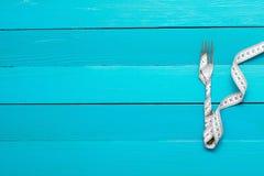 Banta, sund mat och viktförlust Royaltyfri Foto